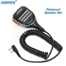 Abbree AR-780 PTT Remote Waterproof Speaker Microphone Two Way Radio FOR... - $18.54