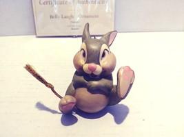 Walt Disney Classics Collection Bambi Thumper Pan-Pan Figurine Ornament 1028792 - $39.99