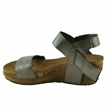 Pierre Dumas Chantal-2 Pewter Women's Platform Wedge Sandals 22270 - $38.95