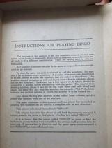 Vintage Bingo Game in Box, J. Pressman Co., New York image 2