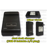 Samsung Galaxy S4 i545 Battery Charger Dock External Home Travel IV S Ve... - $12.18
