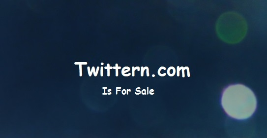 Twittern  domain name for sale