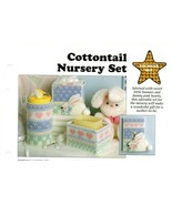 Plastic Canvas Patterns - Cottontail Nursery Set - Younger Set - All-Stars - $1.88