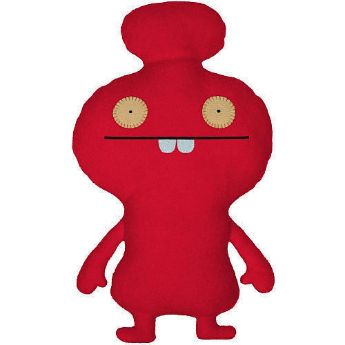 "Primary image for NEW Ugly Doll Uglydoll Little Huggable 12"" Plush Red Mynus DISCONTINUED RARE"