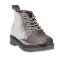Piper Toddler Girls' Tomi Gray Ankle Boot, Gray Velvet size 12, Side zip... - £17.11 GBP