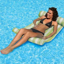 Inflatable Floating Bed Floating Mat Water Pool Hammock Lounge Beach Swi... - $39.83