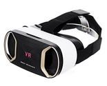 Virtual Reality VR 3D Video Helmet Glasses - Black + White