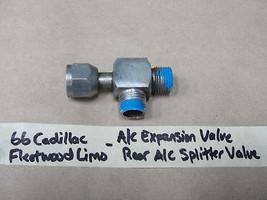OEM 66 1966 Cadillac Fleetwood Limo A/C EXPANSION VALVE REAR A/C SPLITTE... - $39.99