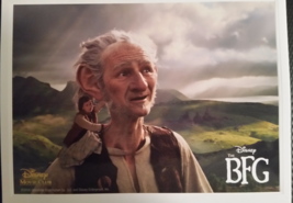 The BFG Big Friendly Giant Lithograph Disney Movie Club Exclusive New - $23.28