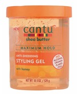 Cantu Shea Butter Maximum Hold Anti-Shedding Styling Gel with Honey 18.5 oz - $15.83