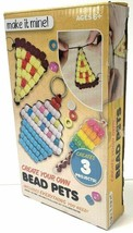 Bead Work Make It Mine Create Your Own Bead Pets Projects DIY Key Ring NEW Box image 2