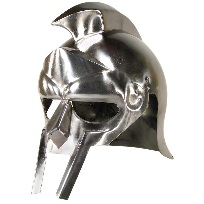 Gladiator Arena Armor Helmet ~ Medieval Knight Roman Spartan Reenactment Costume