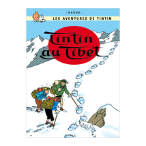 Tintin in Tibet poster Official large size