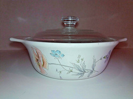 Home Beautiful Fire & Ice Vintage Elegant Flowers With Lid Included Japan - $7.71