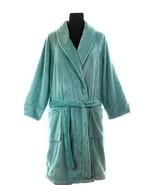 Charter Club Luxe Turkish Cotton Terry Robe (XXX-Large, Soft Rain) - $43.03