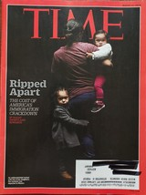 Ripped Apart Families Divided, Frozen -Time Magazine March 19, 2018 - $4.95