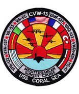 US Navy CV-43 USS Coral Sea Patch Mediterranean Sunset Cruise NEW!!! - $11.87