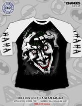 Killing Joke Dc Comics Joker Ha Rieur Suicide Squad Raglan Chemise 48-J41 - $21.02