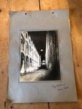 ANTIQUE/VINTAGE PHOTO OF NAVE EAST AT ELY CATHEDRAL (ENGLAND) A4-SIZED - $6.36