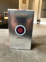BRITISH STERLING ORIGINAL by DANA AFTER SHAVE 3.8 oz SEALED - $33.00