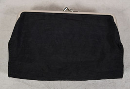 Yohji Yamamoto Y's Wallet Clutch Purse Convertible Bag Black Leather - $247.50