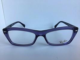 New Ray-Ban RB 5255 5230 51mm Purple Clear Women Eyeglasses Frame  - $79.99