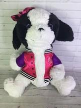 Barbie Fur-iends Friends Jumbo Large Stuffed Plush Dog Puppy Jacket Matt... - $39.59