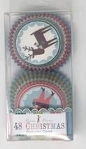 Meri Meri Tis The Season Christmas Santa Reindeer Baking Cups, 48-Pack - $12.16