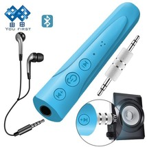 YOU FIRST 3.5mm Bluetooth Earphone Receiver Kit Handsfree Audio Music AU... - $3.60