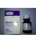 Dental Hemodent Buffered Hemostatic Solution For Topical Application FRE... - $25.90