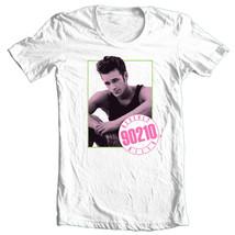 Beverly Hills 90210 T-shirt Luke Perry Dillion 80s 90s retro white tee CBS773 image 2