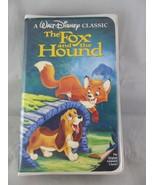 Disney's The Fox And The Hound The Classics Black Diamond VHS - $4.00