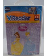 Disney Princess-Belle and Cinderella-V.Reader-Vtech-3-5 Years-Brand New - $9.89