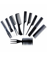 10 PCS Anti-static Plastic Hair Comb Suit - $10.61 CAD