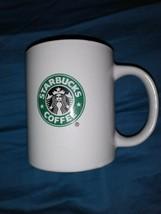 2009 Starbucks Green Siren Mermaid Logo New Bone China 12oz Coffee Mug - $9.49