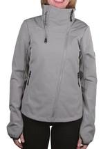 Bench Women's Grey Haughty Zip Up Fleece Lined Jacket BLKA1764 NWT
