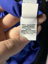 Diane von Furstenberg Silk Iliana Shift Dress Blue Embellished Neckline 2 Blue image 6