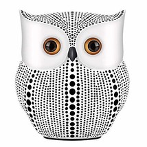 NJCharms Owl Statue Decor, Small Crafted Buho Figurines for Home Decor A... - $20.54