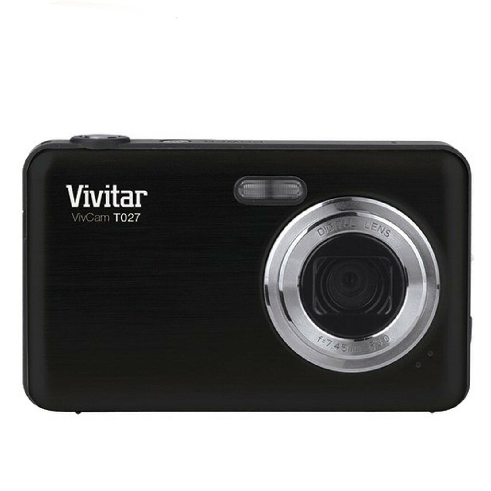 Vivitar Digital Camera with 12.1 Megapixels-Black - $49.96