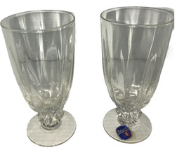 "Vintage 2 HEISEY COCKTAIL Crystal Glasses 5"" X2.5"" No Chips Or Cracks - $29.40"