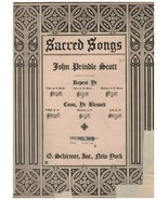 Sheet Music - Come, Ye Blessed ~ John Prindle Scott ~ 1917 ~ Sacred Music - $10.84
