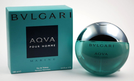 Bvlgari Aqva For Men 100 Ml Pour Homme 3.4 Fl Oz Edt - $65.00
