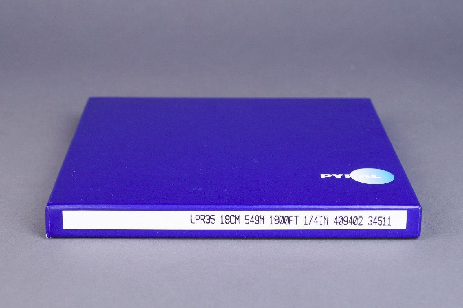 """RTM LPR35 BASF Long Play Tape Plastic Reel 1/4"""" 1800' 549m 7"""" Authorised Dealer"""