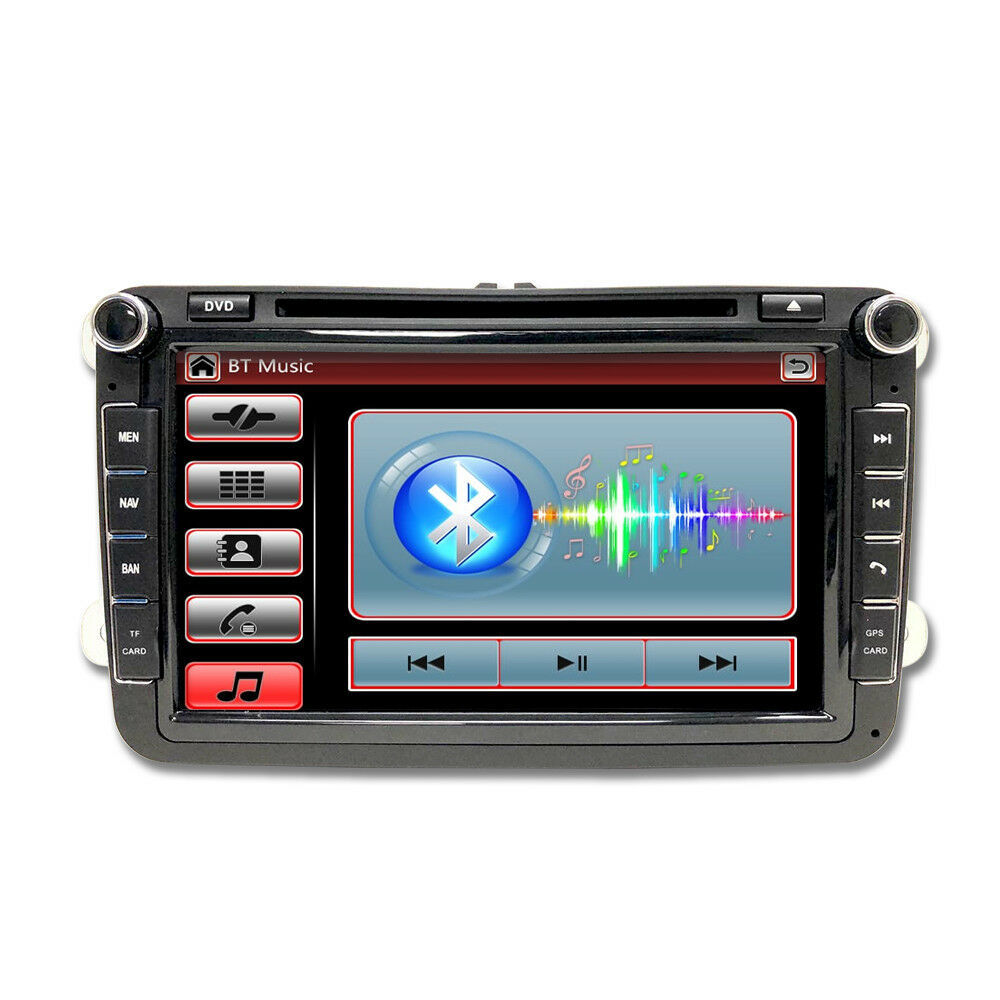 OE FITMENT DOUBLE DIN DVD MP3  AUX  SD GPS NAVIGATION WV VOLKSWAGEN JETTA 06-14