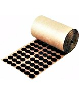 "Adhesive Back Felt Buttons 1,000 Brown Dots Pads 1/2"" Furniture Protecti... - $11.39"