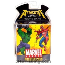 NEW Attacktix Marvel Heroes Series Battle Figure Game Booster Pak 2 Rand... - $21.99