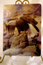Hamilton Collection 1997 WInter WatchCollector Plate Bald Eagle Collection - $8.99