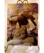 Hamilton Collection 1997 WInter WatchCollector Plate Bald Eagle Collection - $8.99