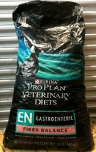 Purina Pro Plan Veterinary Diets EN Fiber Balance Dry Dog Food 32 lbs - $117.80
