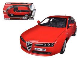 Alfa 159 SW Red 1/18 Diecast Car Model by Motormax - $52.50